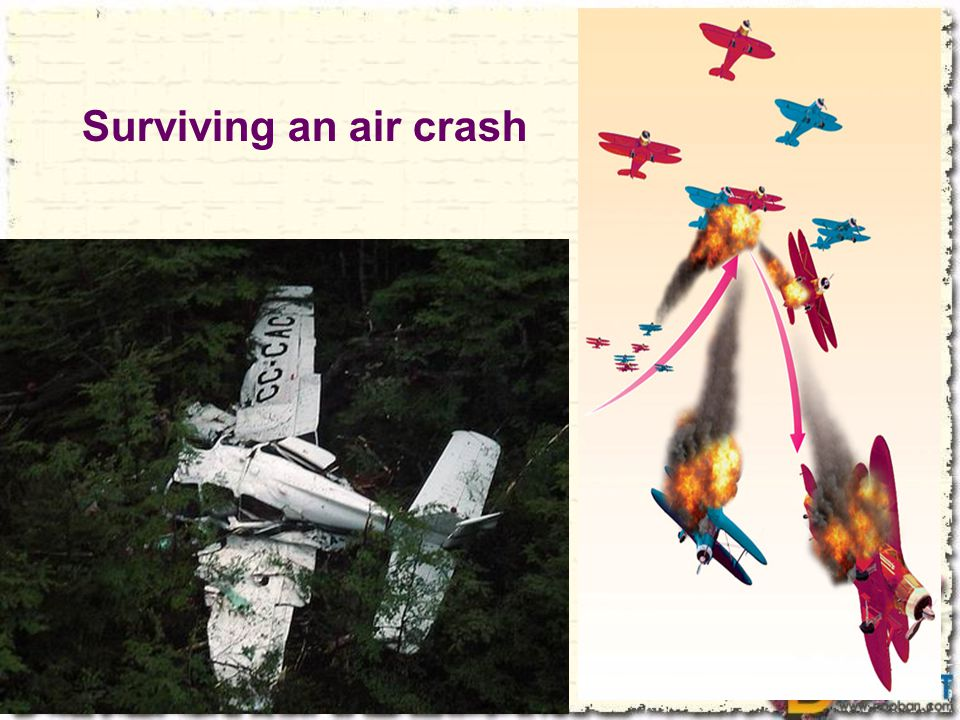 Surviving an air crash