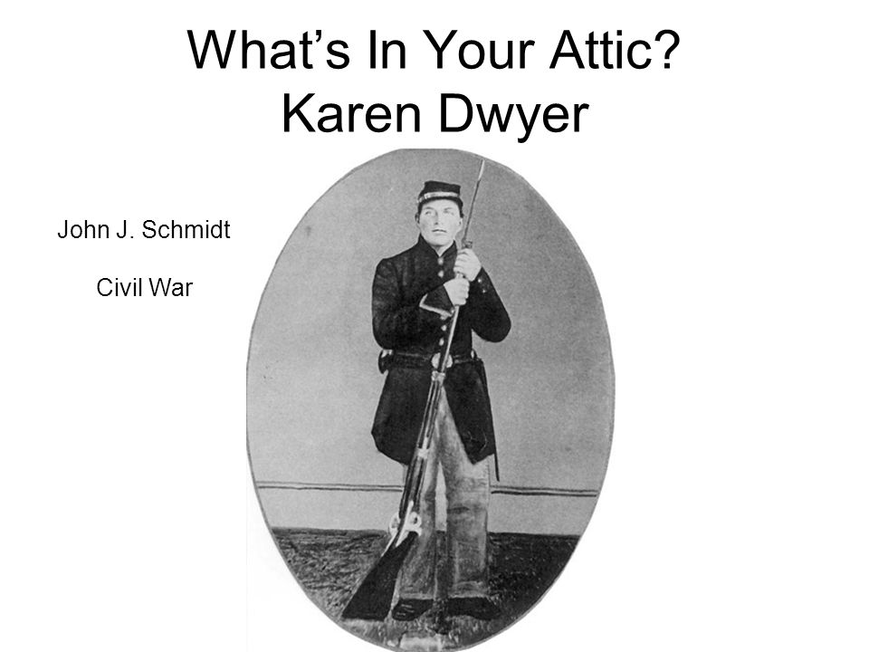 John J. Schmidt Civil War