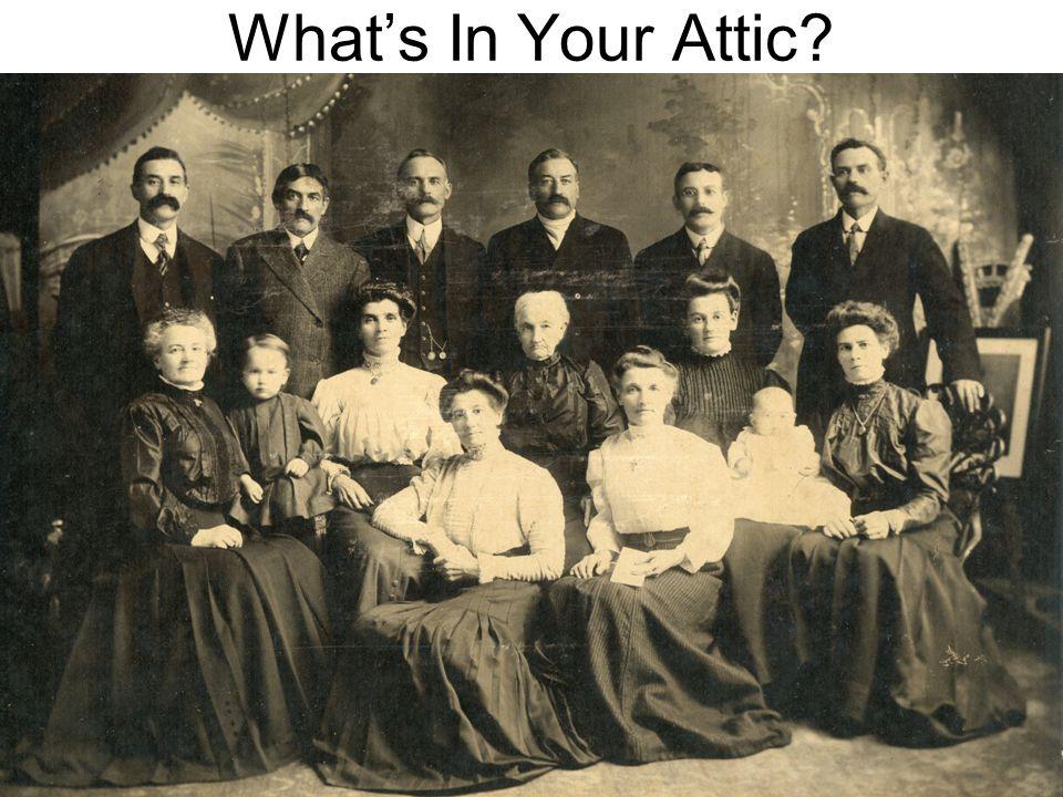 What's In Your Attic? Doreen Colket - 1