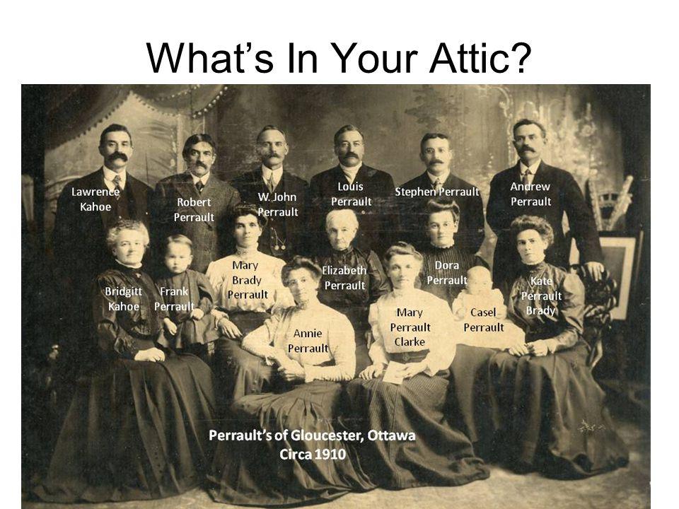 What's In Your Attic? Doreen Colket - 3 60