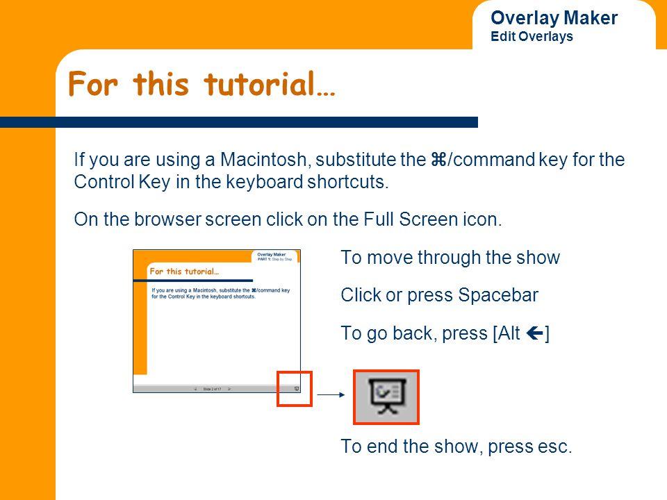 Overlay Maker Edit Overlays 7.
