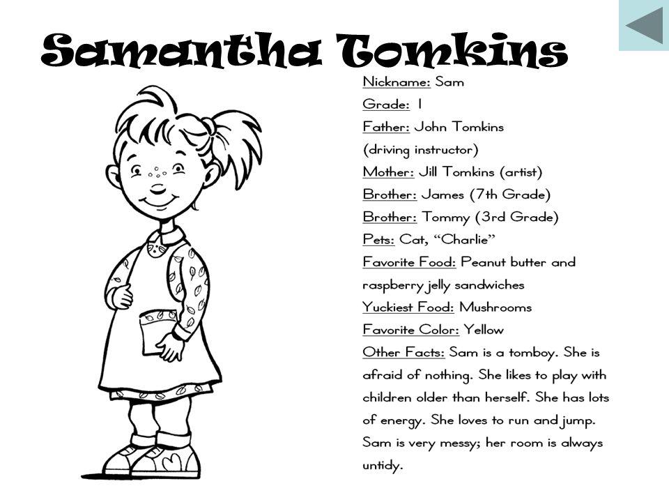 Samantha Tomkins
