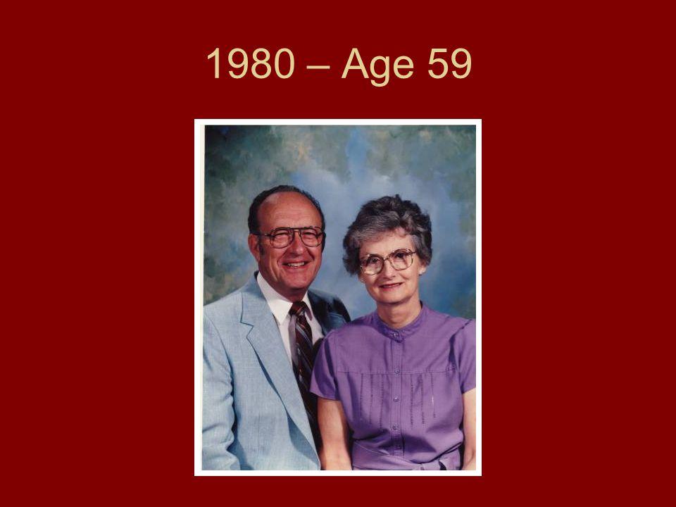 1980 – Age 59