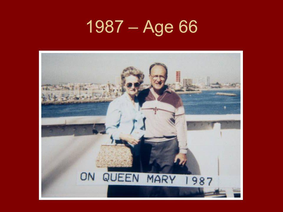 1987 – Age 66