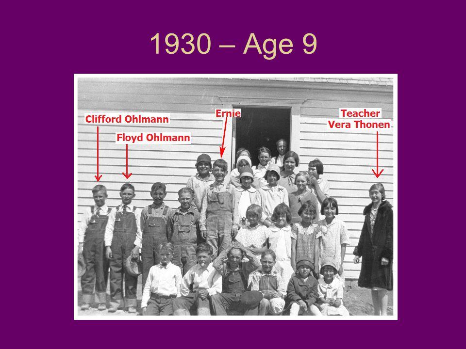 1930 – Age 9