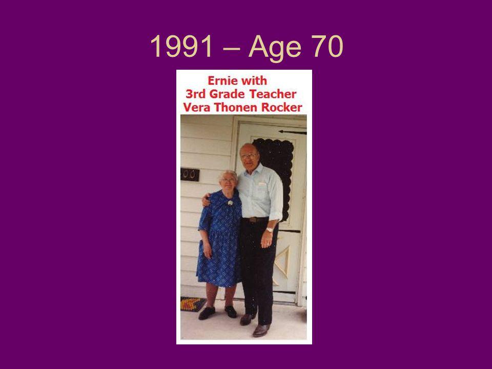 1991 – Age 70