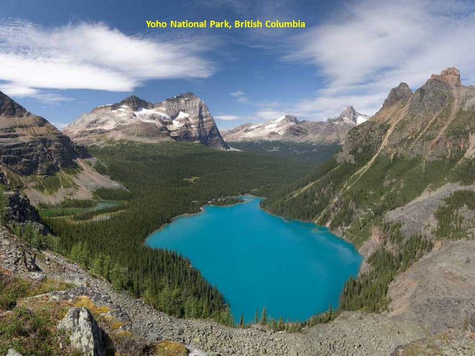 Mary Lake, Glacier National Park, British Columbia