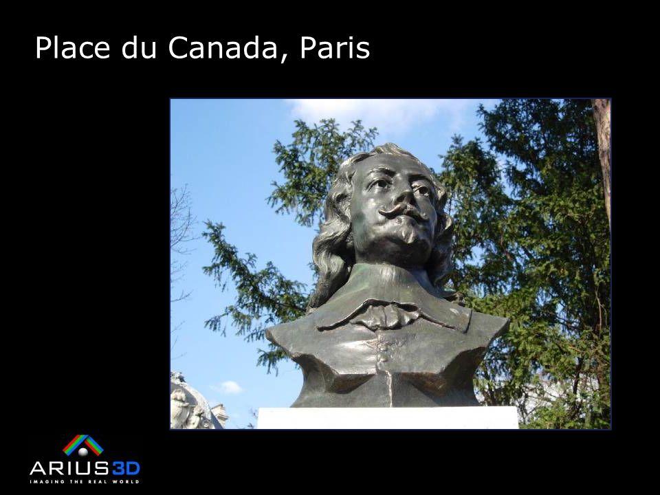 Place du Canada, Paris