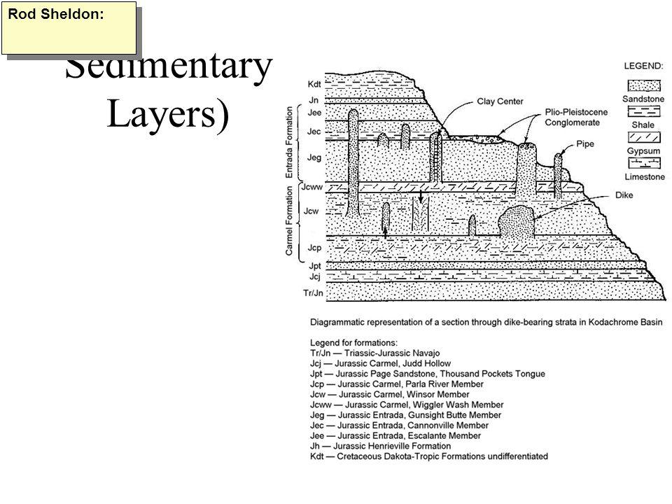 Sedimentary Layers) Rod Sheldon: