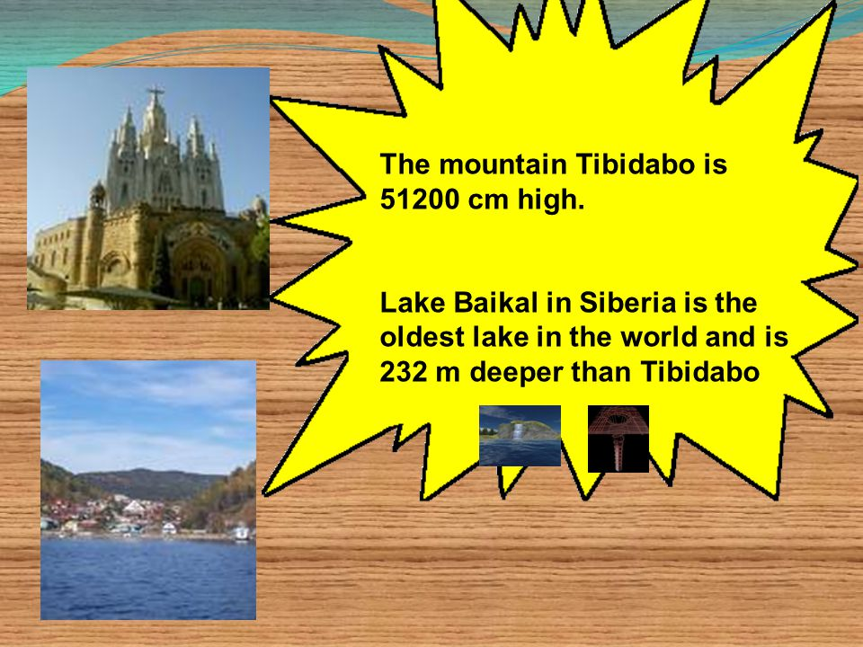 The mountain Tibidabo is 51200 cm high.
