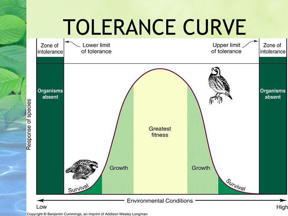 TOLERANCE CURVE