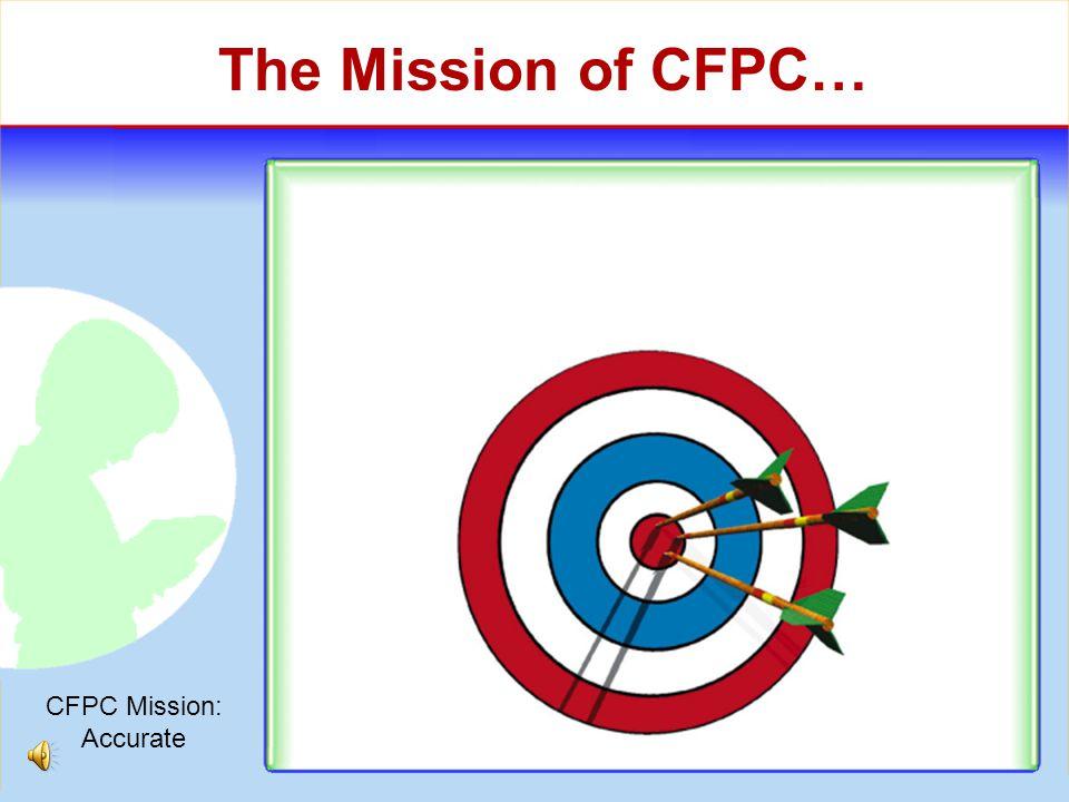 CFPC Philosophies Collaboration vs. Confrontation