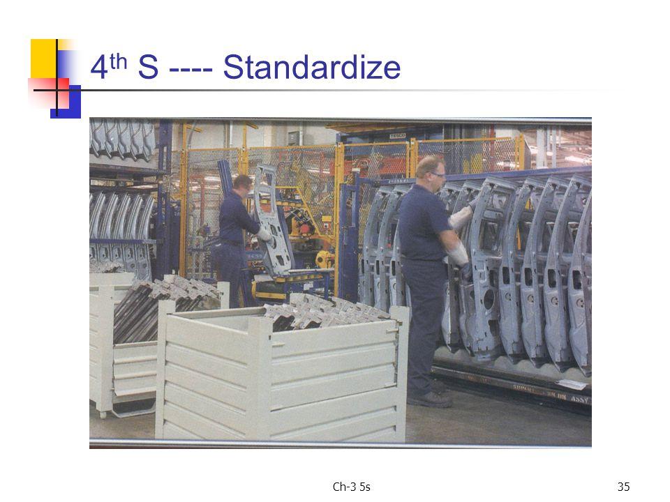 Ch-3 5s35 4 th S ---- Standardize