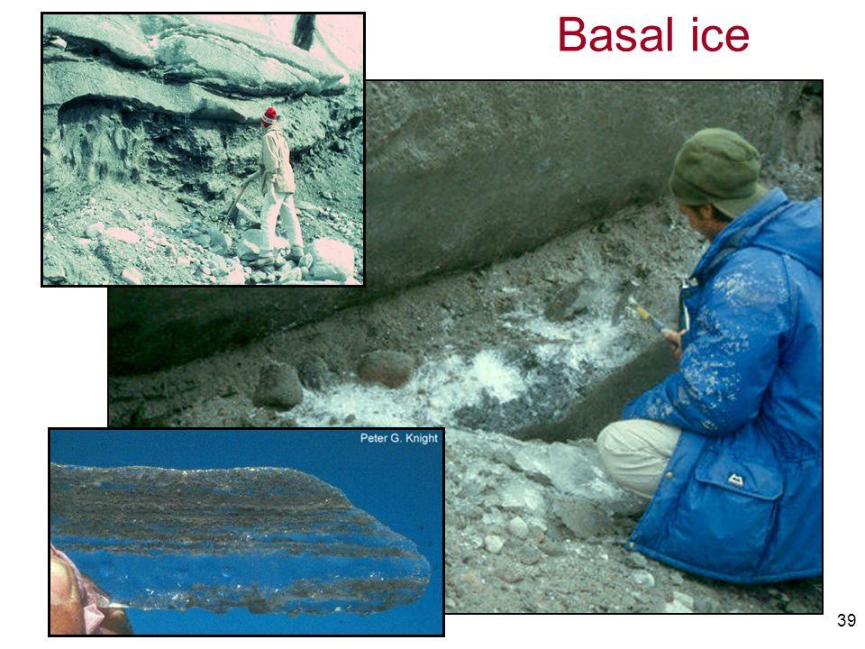 39 Basal ice