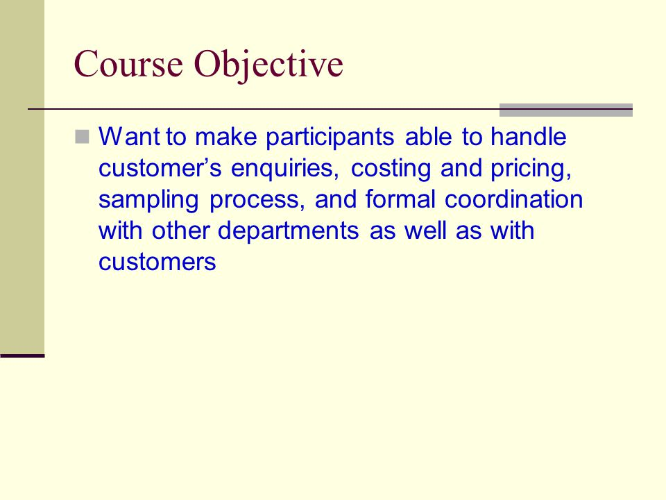 Course Description Synopsis of textile and clothing merchandising.