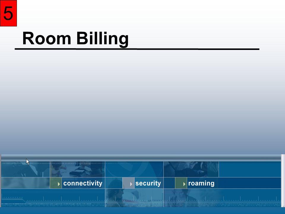 5 Room Billing