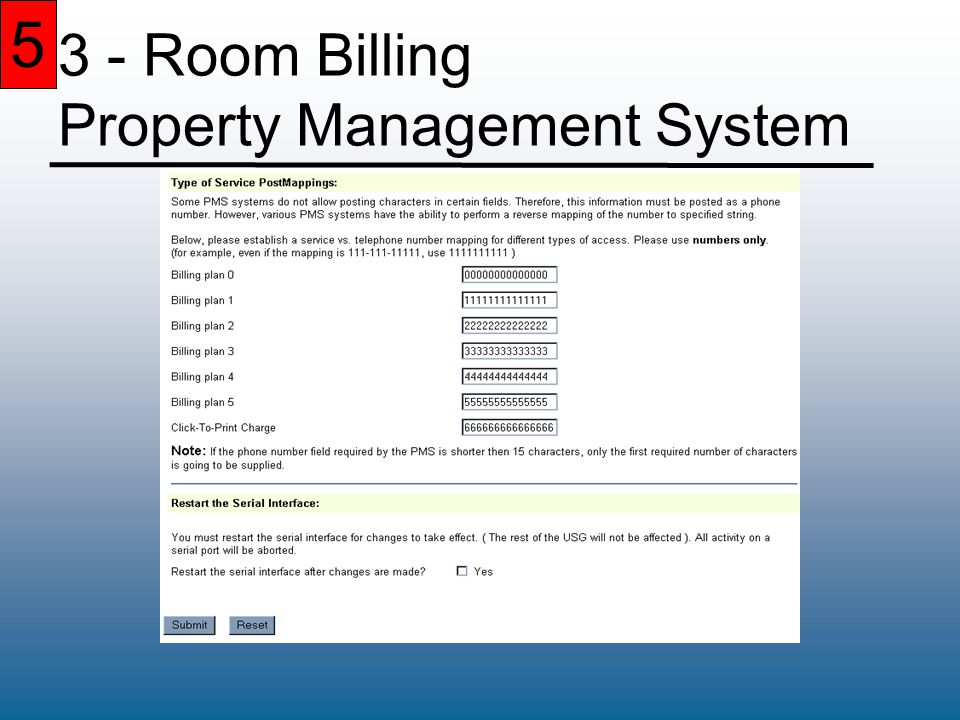 5 3 - Room Billing Property Management System 5