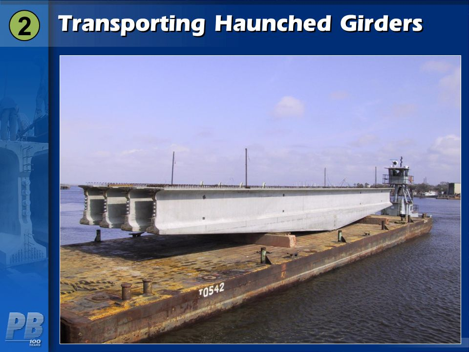 Transporting Haunched Girders 2