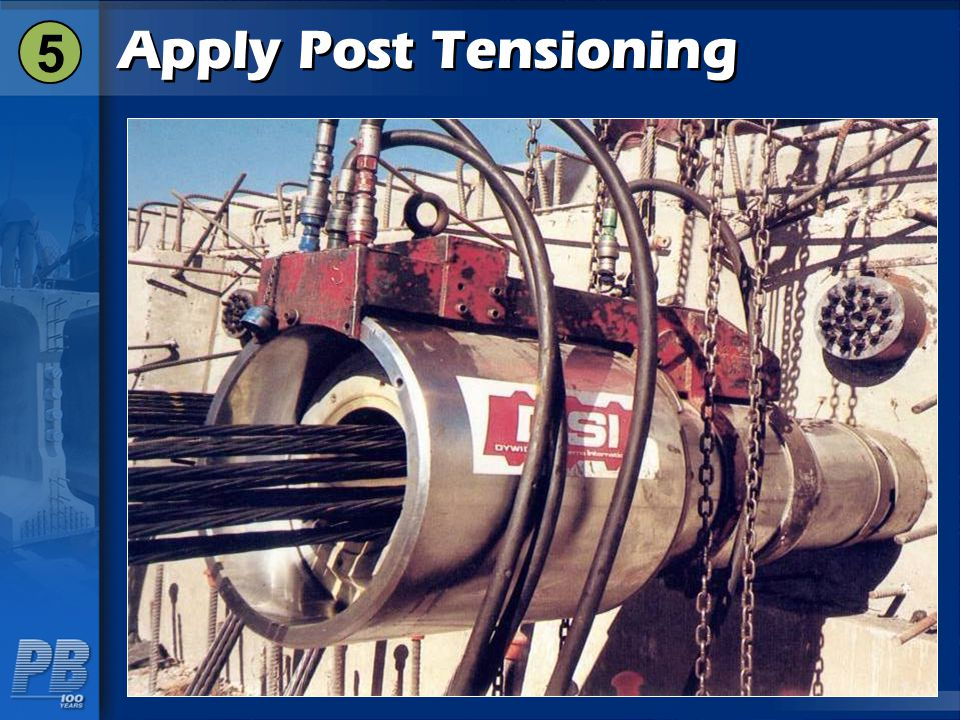 Apply Post Tensioning 5