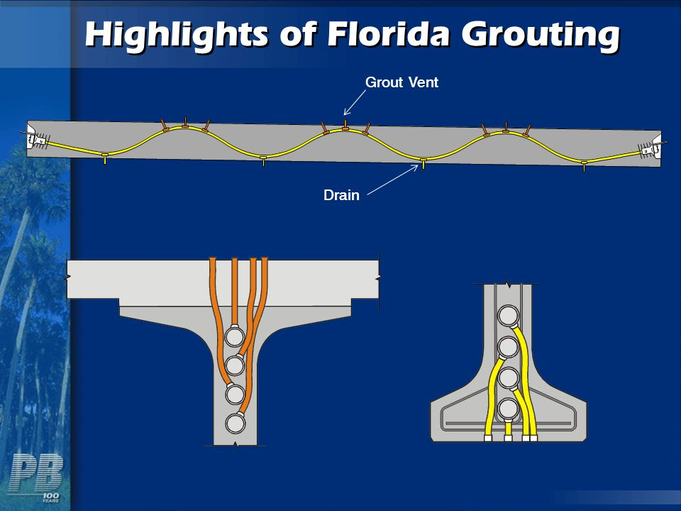 Highlights of Florida Grouting Grout Vent Drain
