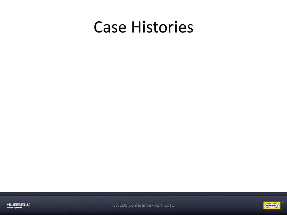 ® Case Histories SWEDE Conference - April 2011
