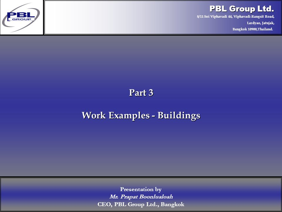 Products & R&DCertificationConclusionFactoryExport OutreachPBL Export Vision PBL Group Ltd.