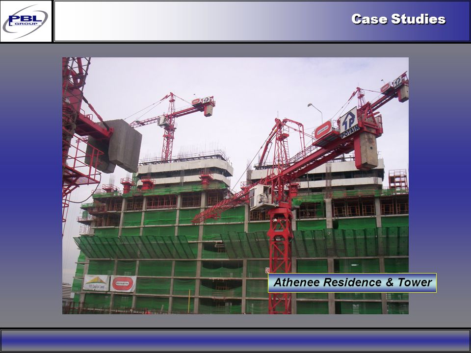 Products & R&DCertificationConclusionFactoryExport OutreachPBL Export Vision Case Studies Athenee Residence & Tower