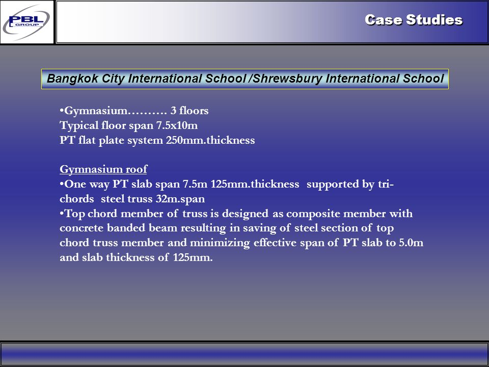 Products & R&DCertificationConclusionFactoryExport OutreachPBL Export Vision Case Studies Bangkok City International School /Shrewsbury International School Gymnasium……….