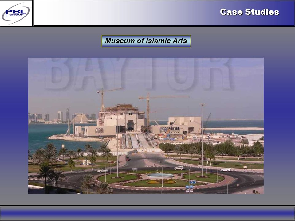 Products & R&DCertificationConclusionFactoryExport OutreachPBL Export Vision Museum of Islamic Arts Case Studies