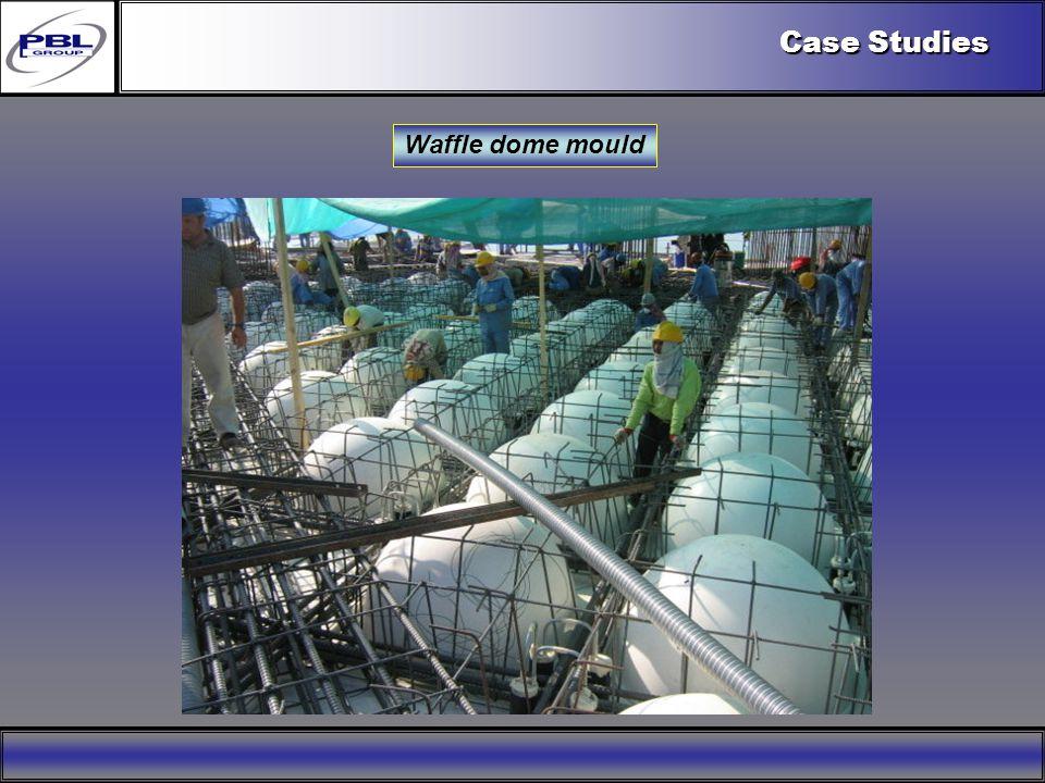 Products & R&DCertificationConclusionFactoryExport OutreachPBL Export Vision Waffle dome mould Case Studies