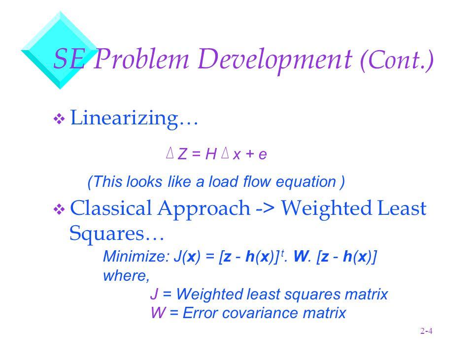 2-15 Base Case Algorithms Power Flow