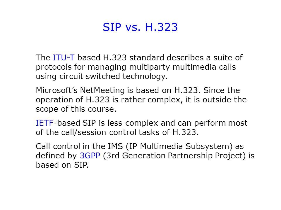 SIP vs.