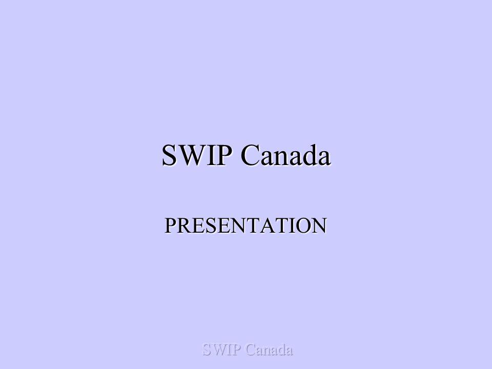 SWIP Canada PRESENTATION
