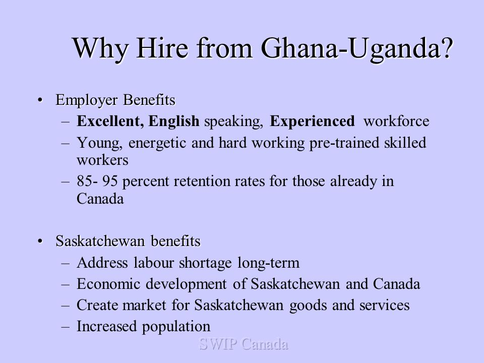 Why Hire from Ghana-Uganda.