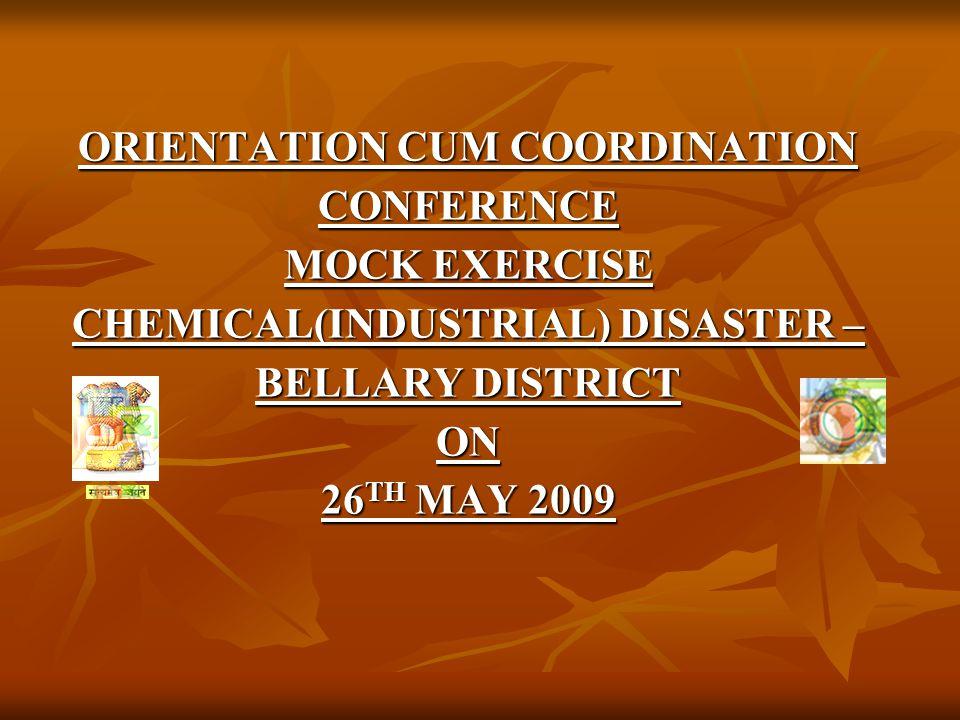 REQUIEMENT & CONDUCT OF MOCK EXERCISE - Contd.Sl.No.