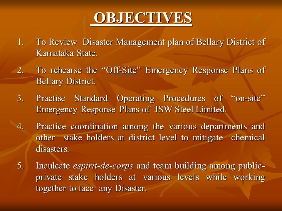 6.Relief.A. Food B. Shelter District Revenue Deptt.