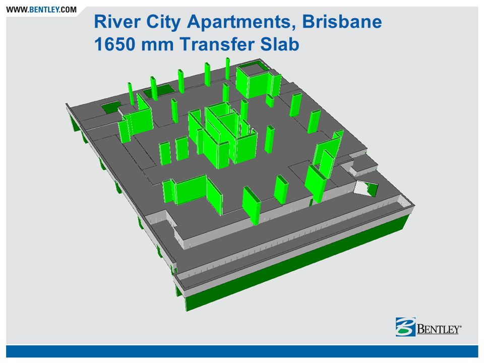 River City Apartments, Brisbane 1650 mm Transfer Slab