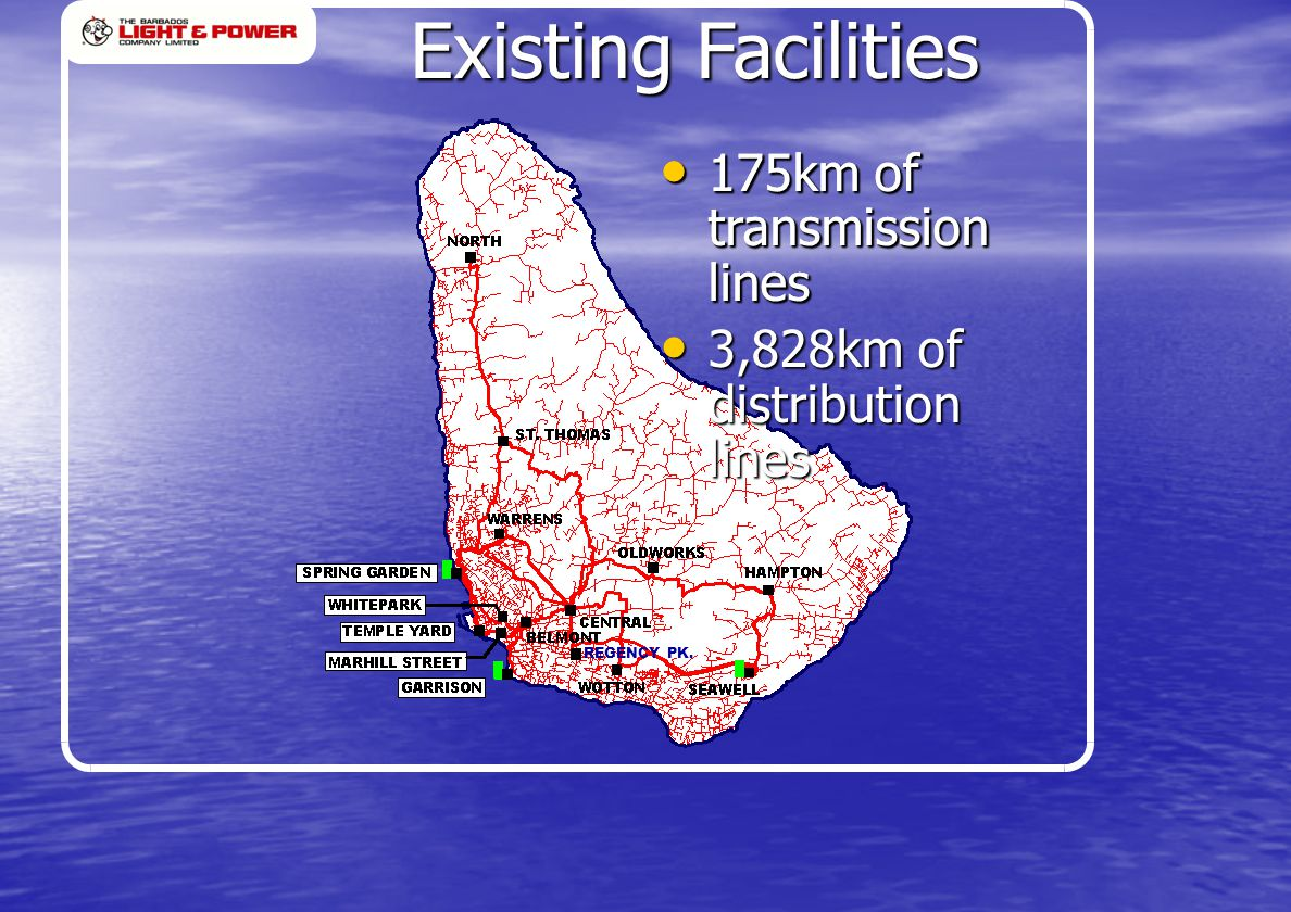 REGENCY PK.175km of transmission lines 175km of transmission lines REGENCY PK.