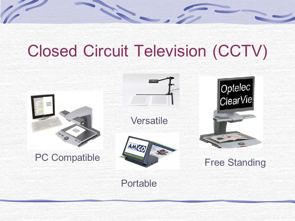 Closed Circuit Television (CCTV) PC Compatible Free Standing Versatile Portable