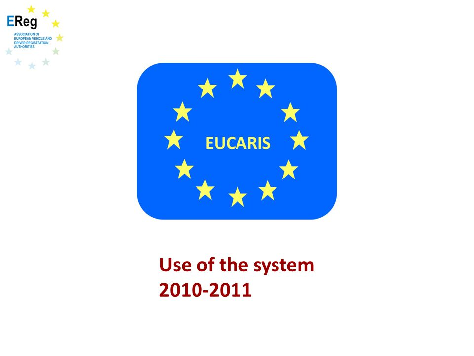 Use of the system 2010-2011
