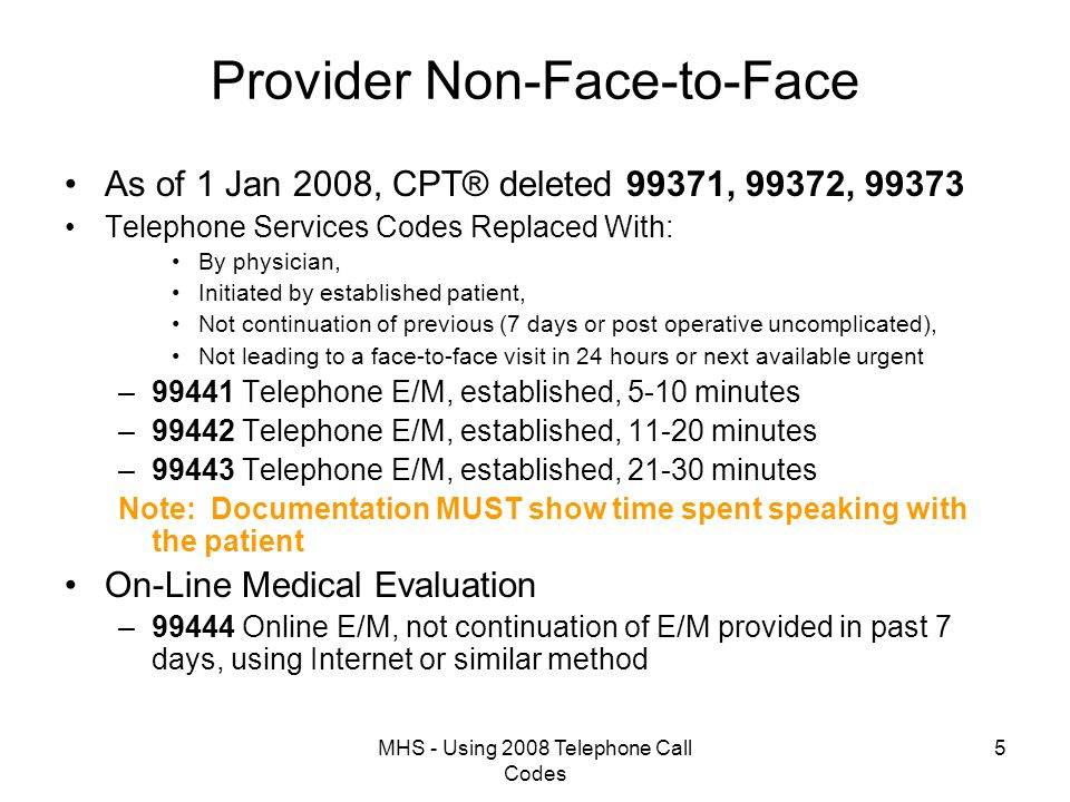 MHS - Using 2008 Telephone Call Codes 16 Telephone Consult Processing Nursing Menu Physician Menu Allied Health Menu Bring Up Ward for Order Entry Clinical Interface Management Menu Facility Quality Assurance Menu Physician Menu Select Clinical System Menu Option: Physician Menu Accessing the encounter from the Clinical Menu Tree