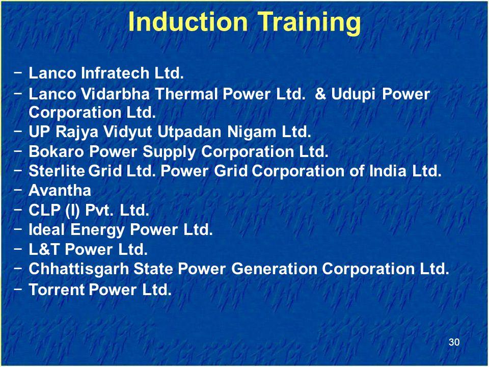 −Lanco Infratech Ltd.−Lanco Vidarbha Thermal Power Ltd.