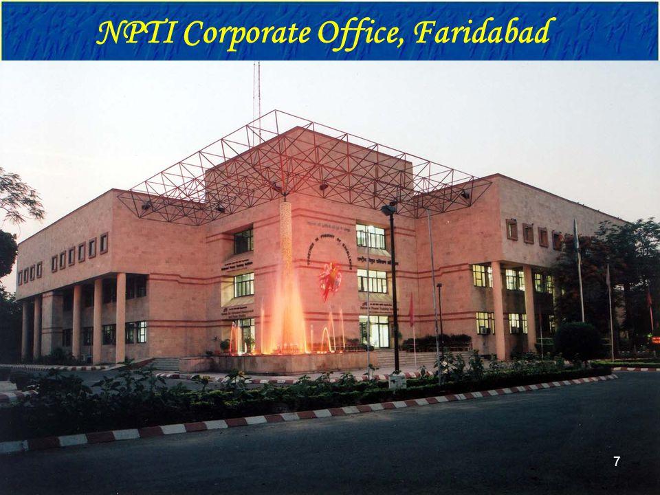 NPTI Corporate Office, Faridabad 7