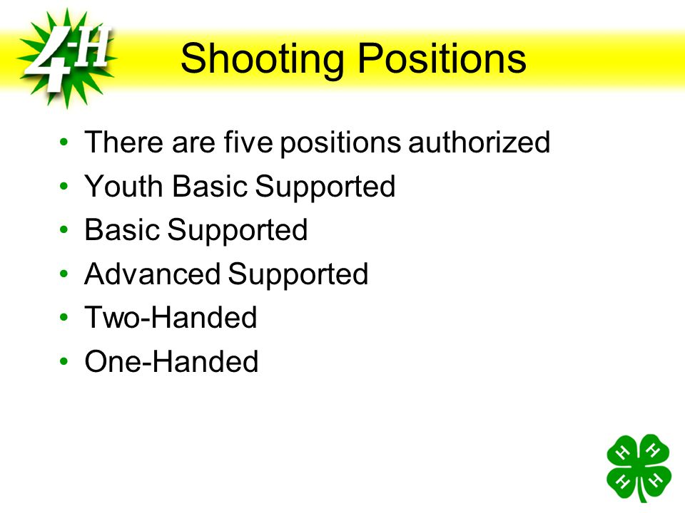 Progressive Pistol The Progressive-Position Pistol (PPP) program is intended to introduce young pistol shooters to competitive pistol target shooting