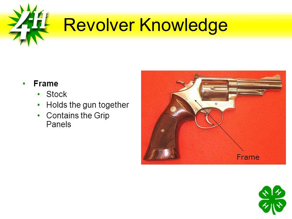 Pistols, Revolvers and Ammunition Objectives Distinguish handgun ammunition and understand safety considerations for handgun ammunition Identify other
