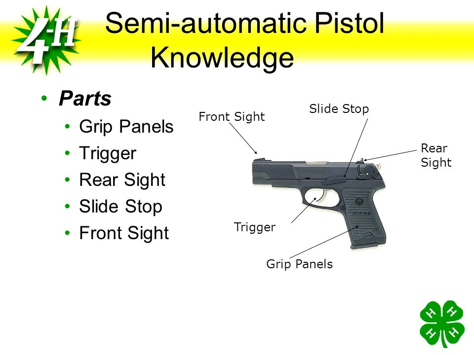 Procedure If a Problem Occurs Cease Fire If Necessary Keep Pistol Pointed Down Range Raise Hand for Help