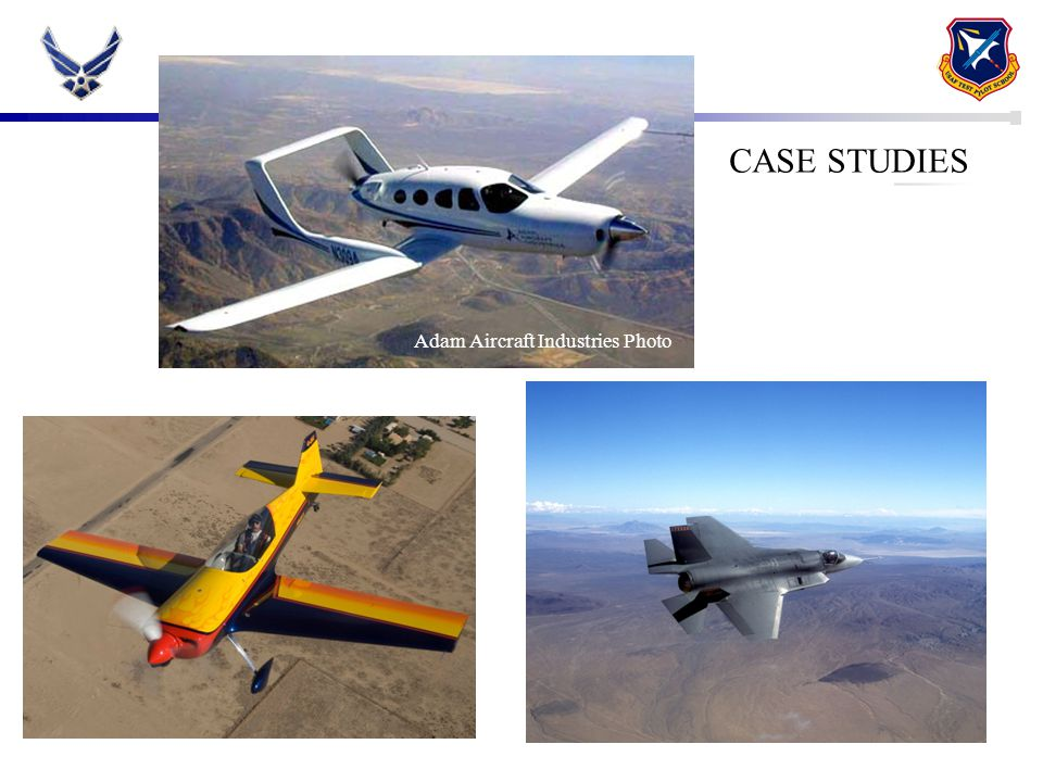 CASE STUDY: ADAM AIRCRAFT M309 CASE STUDIES Adam Aircraft Industries Photo