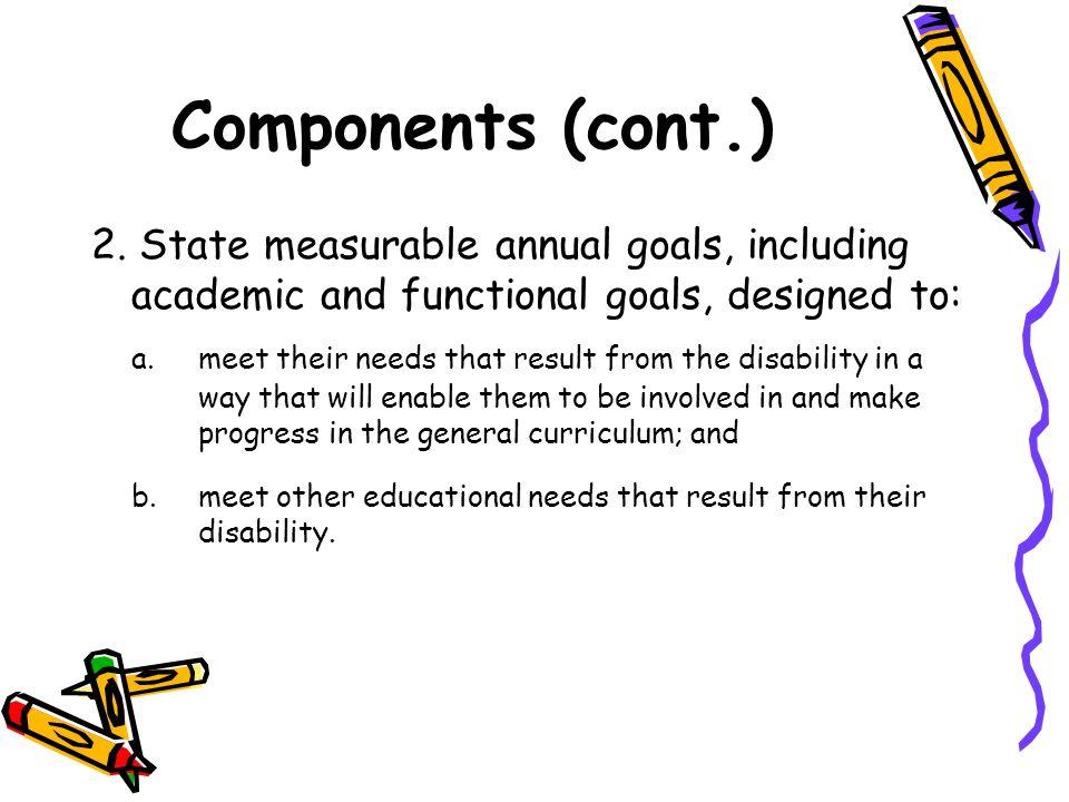 Components (cont.) 2.