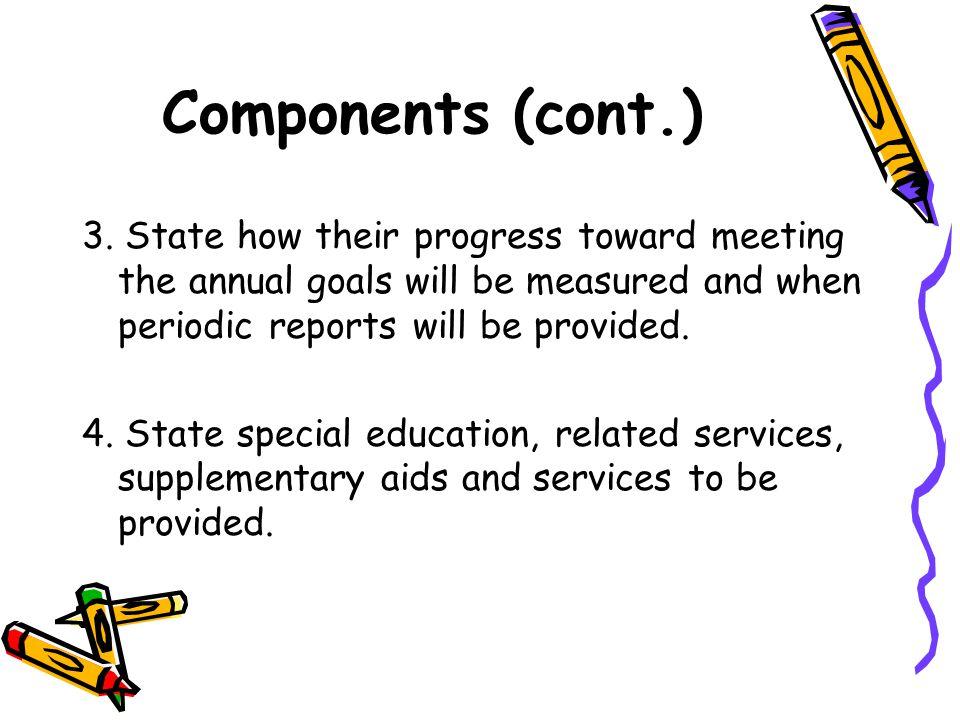 Components (cont.) 3.