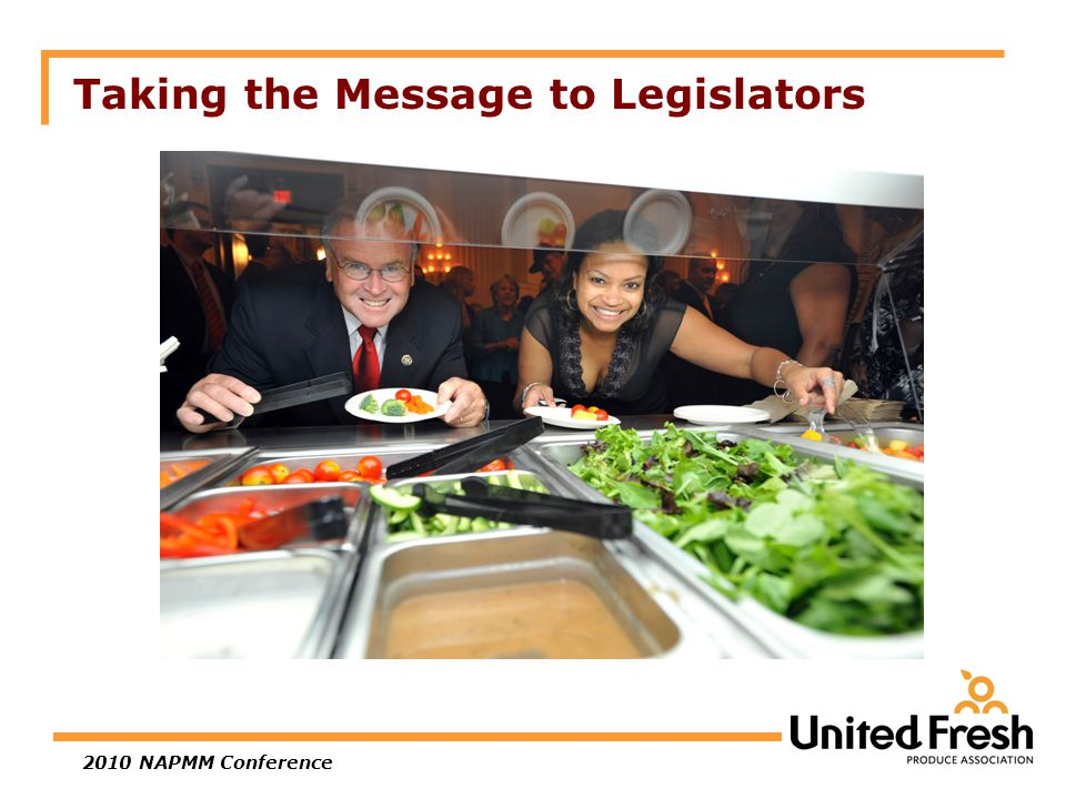 2010 NAPMM Conference Taking the Message to Legislators